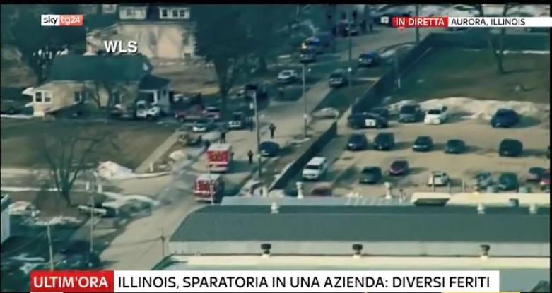 #UltimOra #Illinois, sparatoria in un'azienda. Ci sarebbero diversi feriti #Canale50 https://t.co/0kxapzNrby