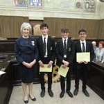 Image for the Tweet beginning: With the winners @Essex_CC of