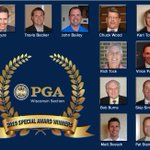 Image for the Tweet beginning: The Wisconsin PGA is pleased