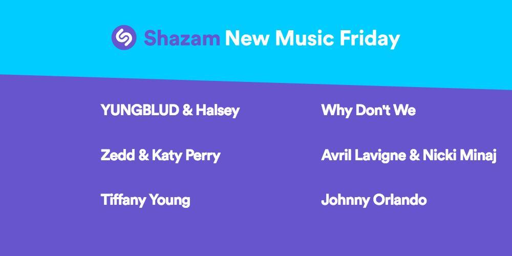 #NewMusicFriday is here! Listen to the latest from @iamdomharri@halseyso@Zeddn x@katyperry ,@tiffanyyoung  @whydontwemusicx @AvrilLavigne, ,@NICKIMINAJ ,@johnnyosings  x ,  & more ---https://t.co/dAGbd8buQ3>