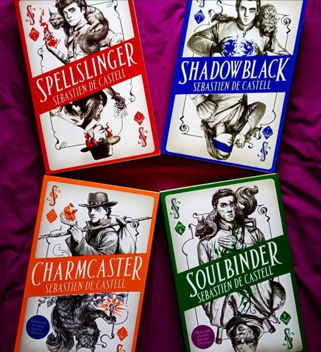 Image result for spellslinger series