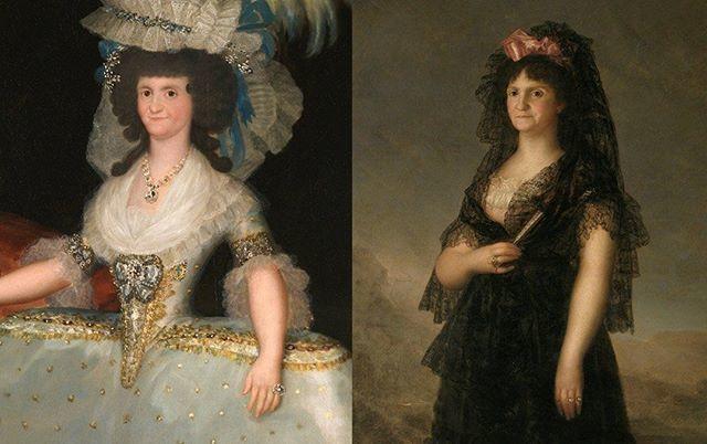 """@museodelprado: #10YearChallenge La infanta Margarita retratada por Velázquez a los 5 años en """"Las meninas"""" en 1656 y por Martínez del Mazo en 1665-1666, poco antes de casarse con su tío el emperador Leopoldo I. Fallecería a los 21 años por las secuelas … http://bit.ly/2to4aa7"""