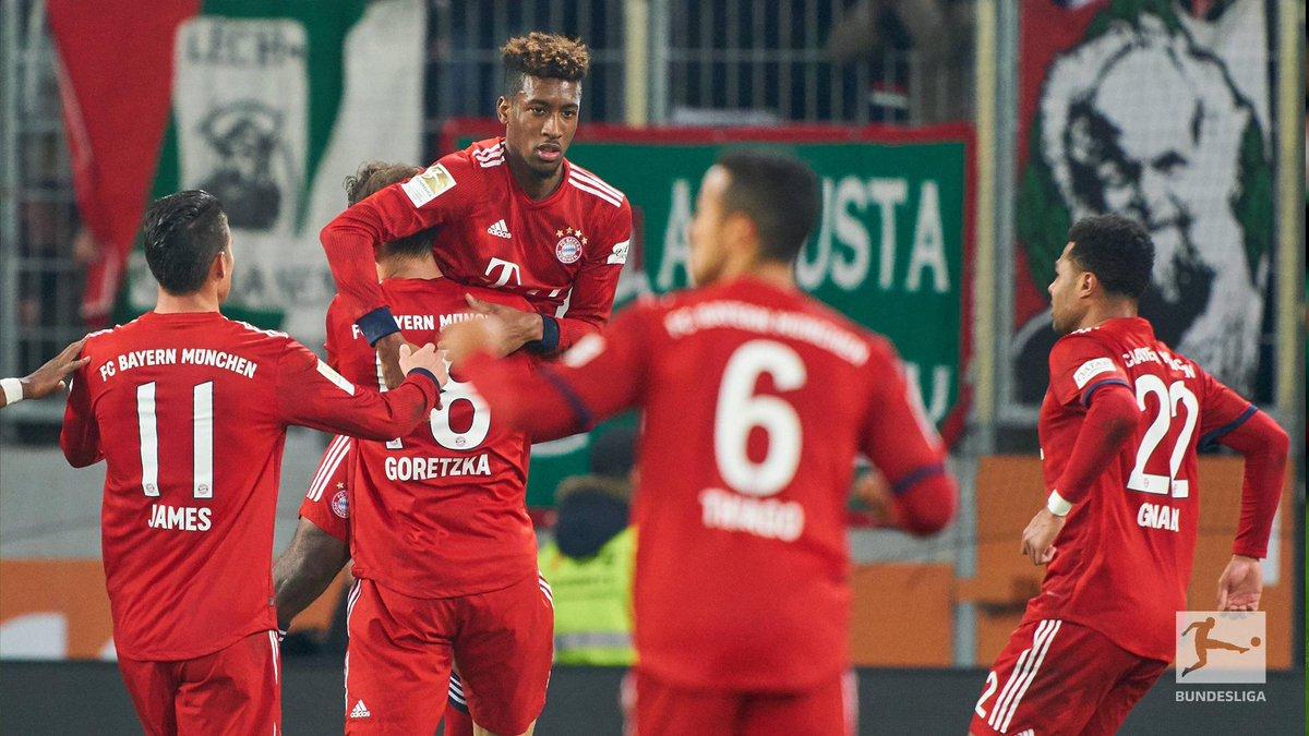 Bundesliga English's photo on Augsburg