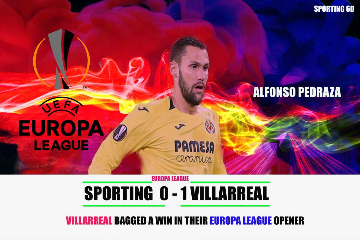 Villarreal wins the away against Sporting. Keeping the momentum is key for teams. Upsets can happen in the second leg if they aren't at the top of the game.#VillarrealCF #SportingCP #EuropaLeague #UELxESPN #FridayFeeling #futbol