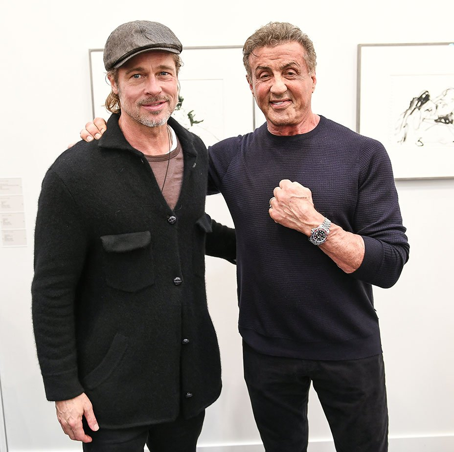 Check out the stars – including Brad Pitt and Sylvester Stallone – who welcomed the art fair Frieze to Los Angeles  http:// thr.cm/dGLNBD  &nbsp;  <br>http://pic.twitter.com/dPppeXmo6c