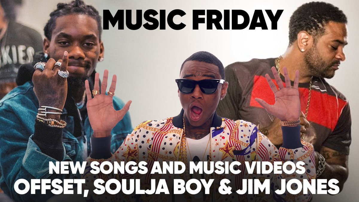 MUSIC FRIDAYS | Offset Releases 'Red Room,' Soulja Boy 'Crank That Big Drako,' Jim Jones Releases 'Cristal Occasions' http://ow.ly/DVe930nImco