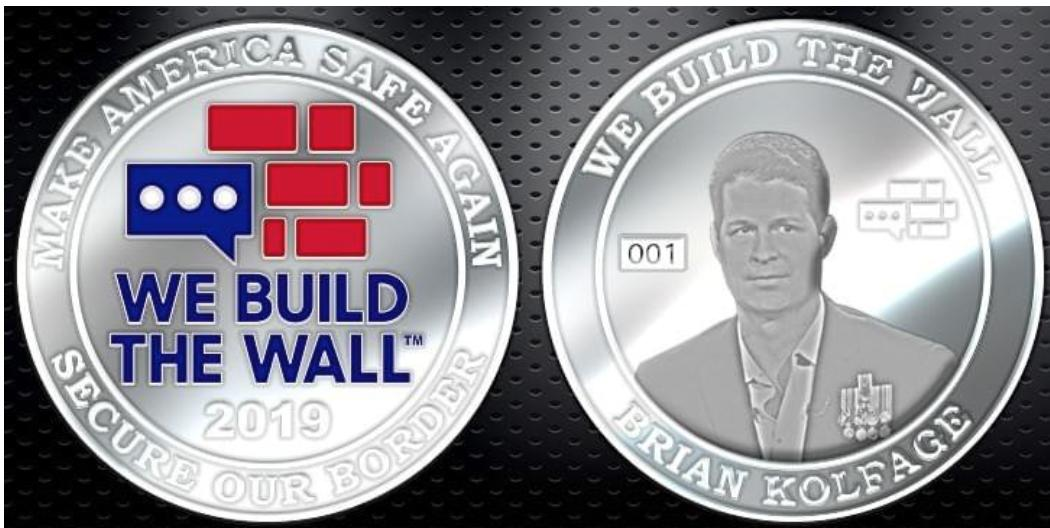 The guy behind the border wall GoFundMe campaign is now selling coins with his face on them   https://t.co/Lzg1pS5ujC  Via  @willsommer