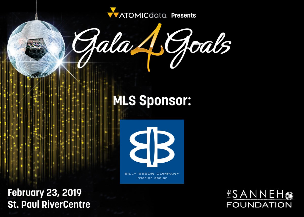 test Twitter Media - Thank you, Billy Benson Company for their MLS Sponsorship Level at Gala4Goals 2019! #Gala4Goals https://t.co/9ctVXZGlJ6