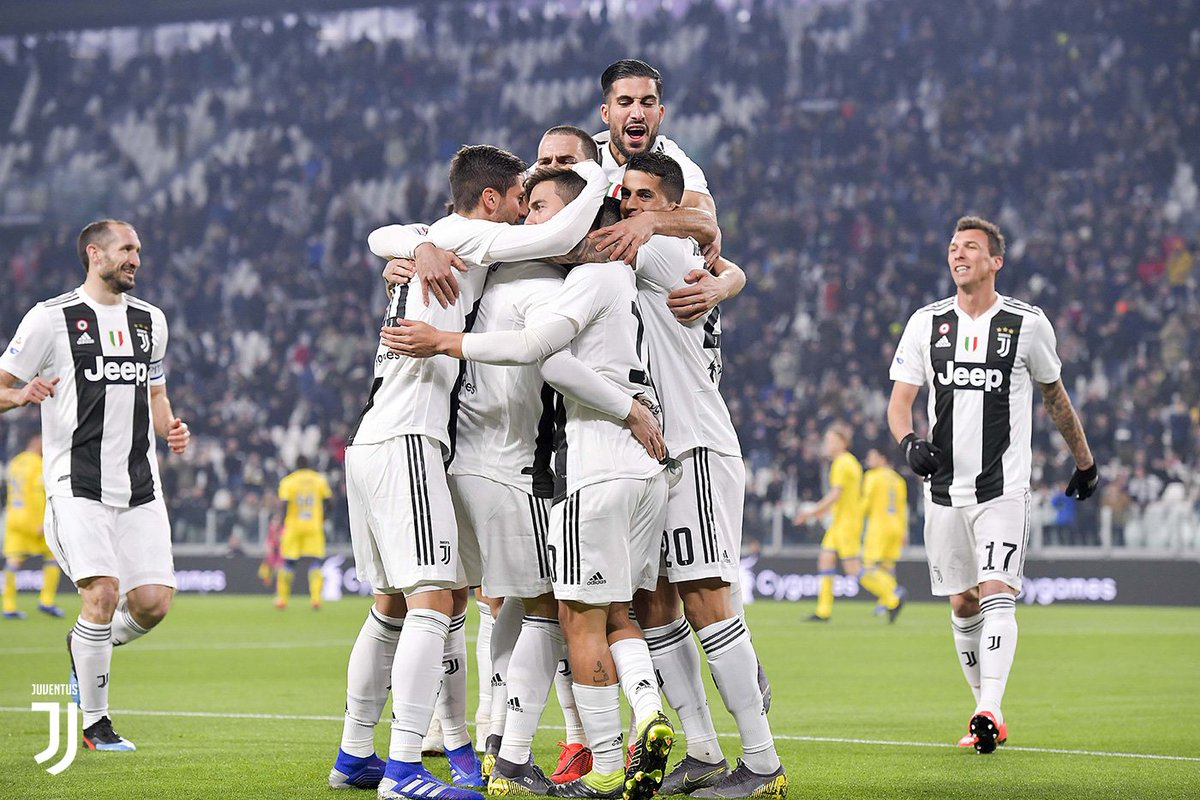 Tris al Frosinone, pronti per Madrid. Il Match Report di #JuveFrosinone ➡️ http://juve.it/IN9m30nIF37