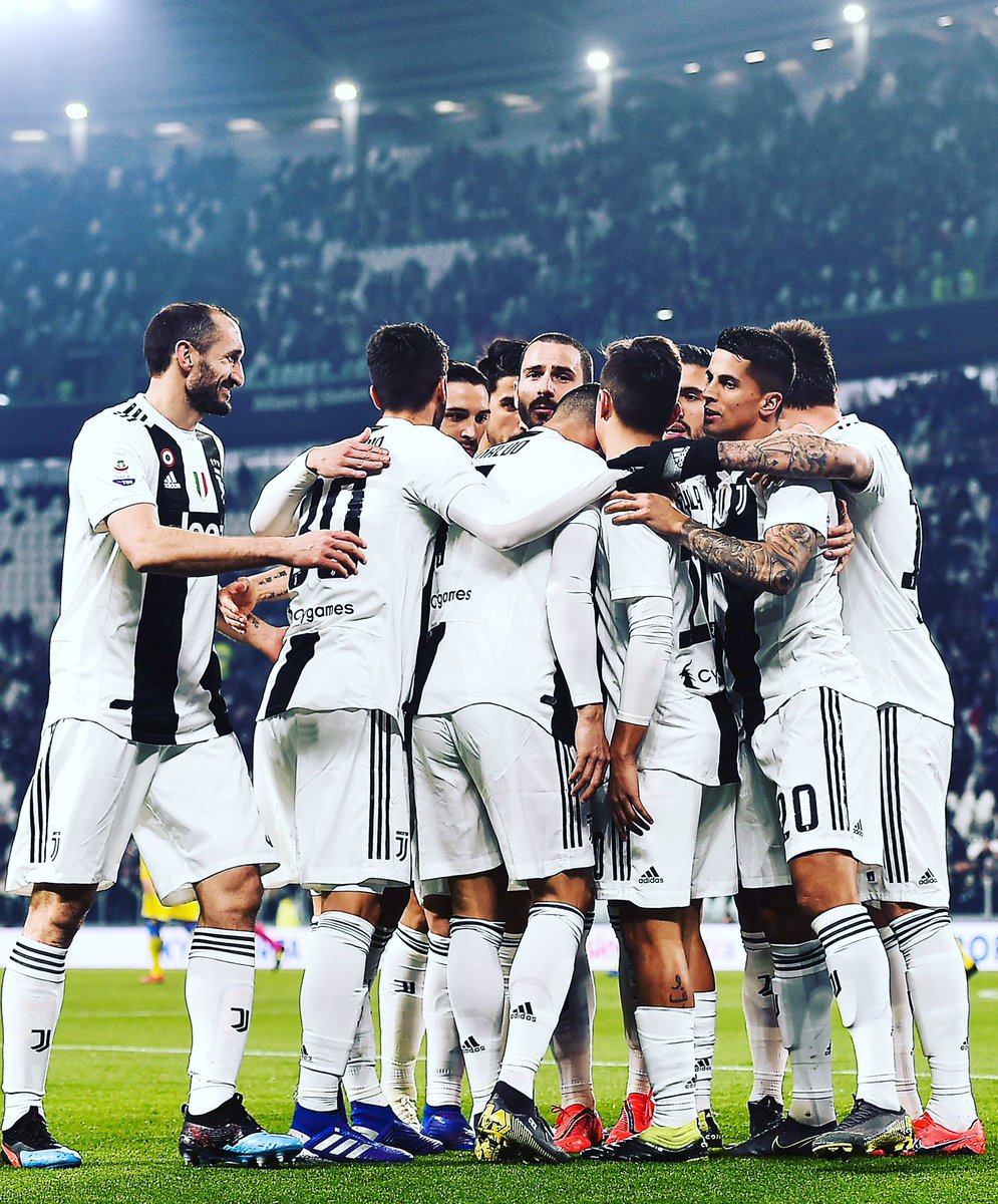 Well done ragazzi ⚪️⚫️ ⏭ @ChampionsLeague #GiveItAll