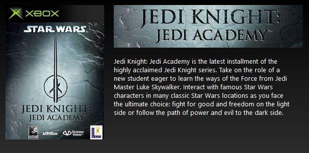 jedi academy free with gold