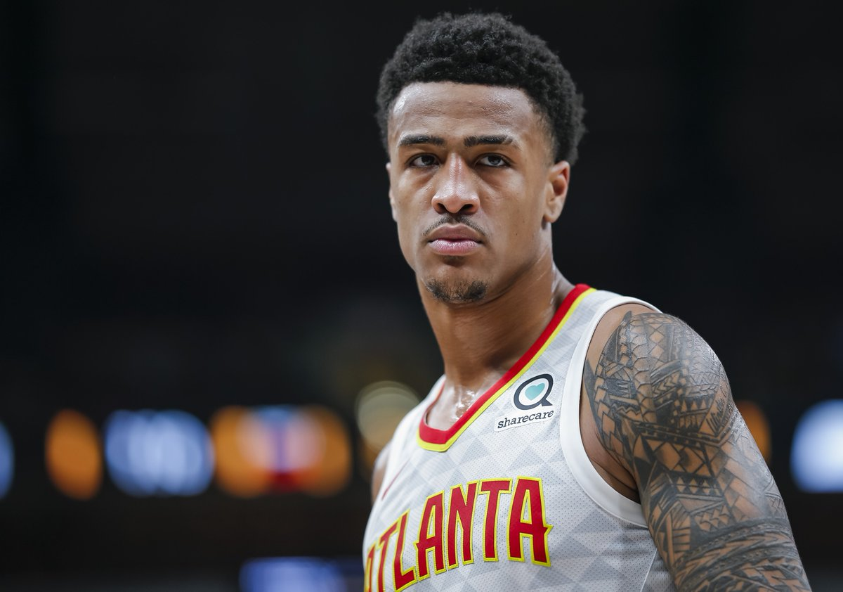 John Collins is lucky enough to be receiving advice from Dominique Wilkins and Vince Carter ahead of the AT&T Slam Dunk Contest, per @ChrisKirschner