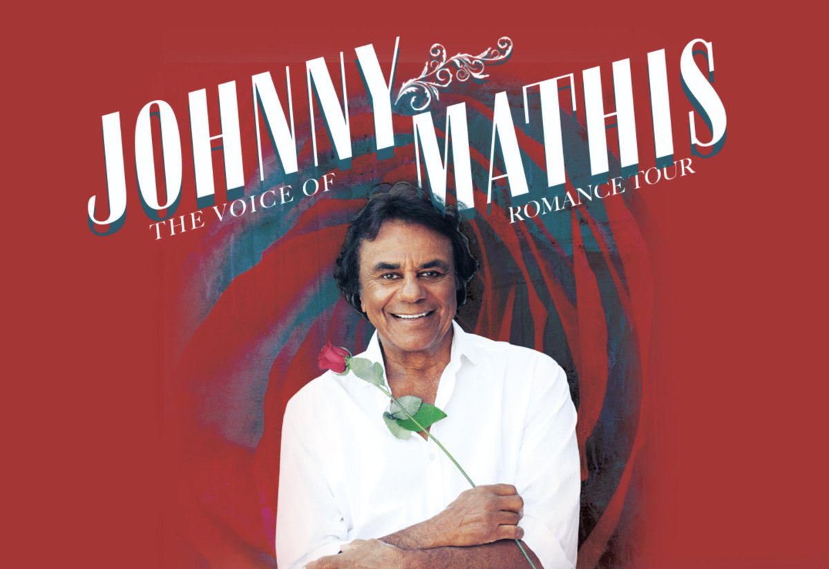 Did you know Johnny has never stopped recording & touring since 1956?  See where he'll be singing next on his continuing Voice of Romance Tour! Click on this link to get your tickets now: https://johnnymathis.com/wp2/index.php/tour/…