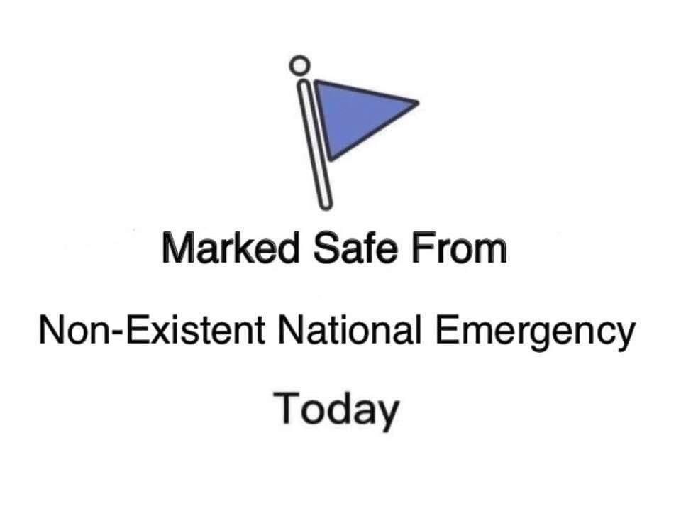 #NationalEmergencyDeclaration #FakeTrumpEmergency