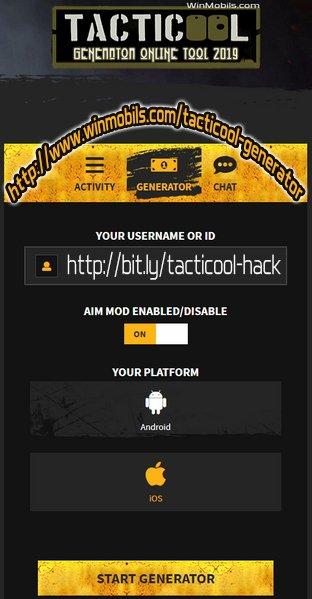 Tacticool Hack Gold Generator Online Tool 2019 :D