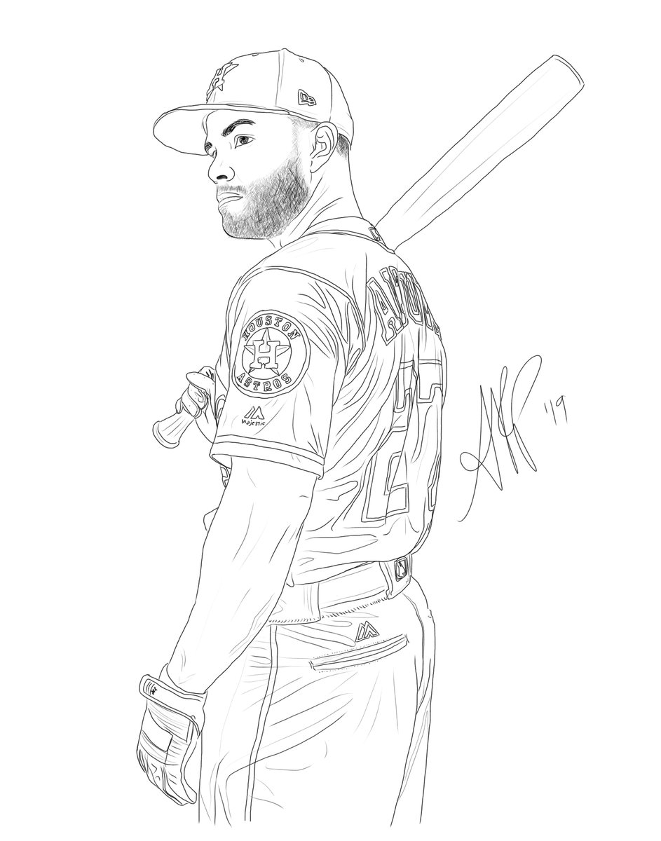#TAKEITBACK! Sketch of the day featuring the amazing @JoseAltuve27 of the @astros!! M-V-P!!<br>http://pic.twitter.com/1GQaIQMWF1