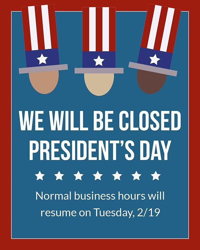 A reminder for next week! But don't worry, we'll be back first thing on Tuesday. Happy Presidents' Day weekend #AVTweeps! . . . . #presidentsday #happypresidentsday #longweekend #premiermounts #holiday #holidayweekend #friyay #reminder #av #audiovisual #avprofessionals #offi…