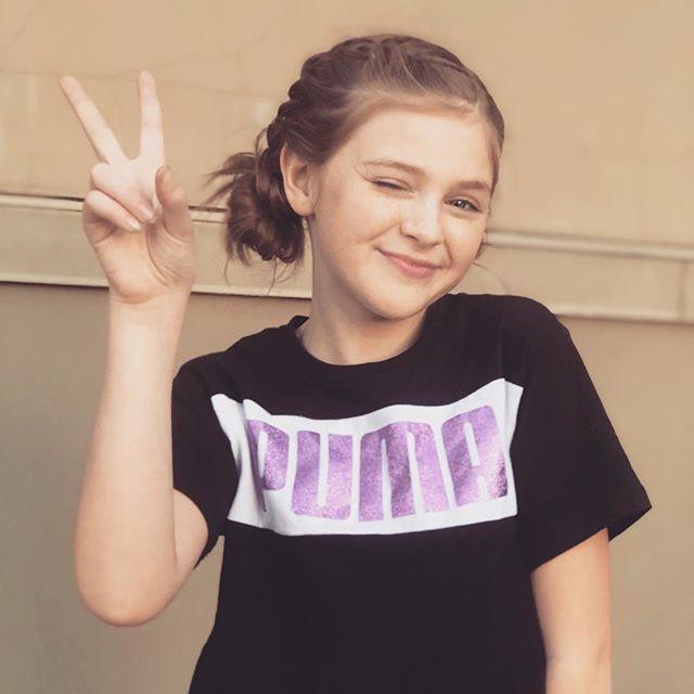 Peace out week ... let's get the weekend started !! 💜💜💜💜#weekendvibes #kindnessmatters #puma #tweenmodel #happy #actor #la #losangeles #braids #beyourself #smile #pilotseason #bookme #hollywood #industrykids #aetalent #ddo http://bit.ly/2ST4ITF
