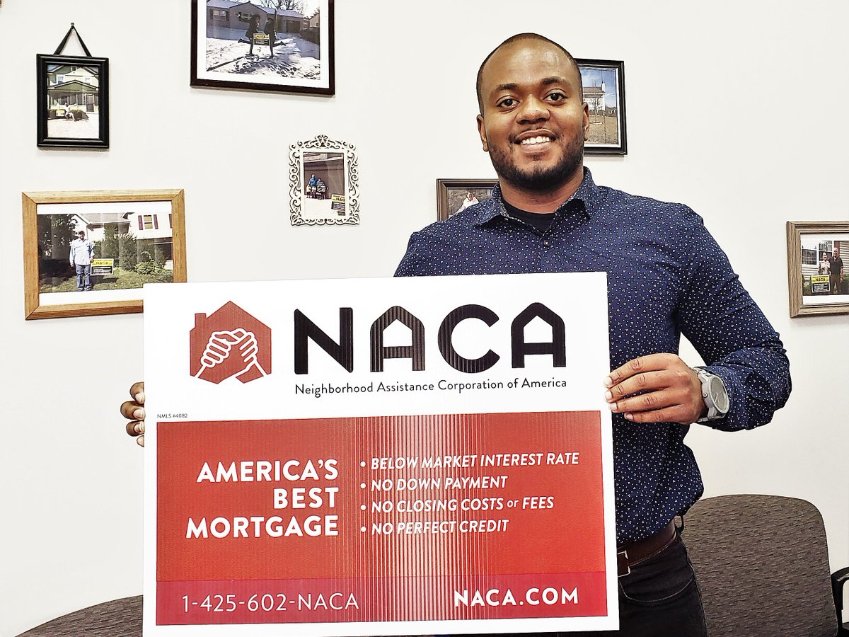 "Mr. Acsenvil in #KansasCity: ""My goal ws to become a homeowner by the age of 25. NACA helped make that happen! I was able to make my dream come true. Thank you NACA!"" AND A 1.653% FIXED RATE! #AmericanDream #NACAPurchase #AchieveTheDreamNACA   2.066% APR"