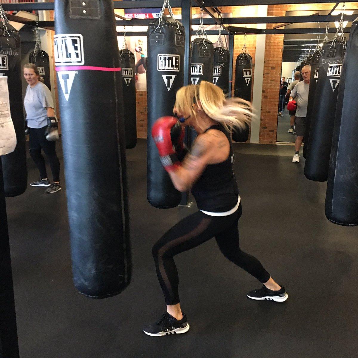 Chelsea, rocking the Friday Noon Class. #Badass #motivation #accountability #results #boxing #mechanicsburg #camphill #kickboxing #getfit