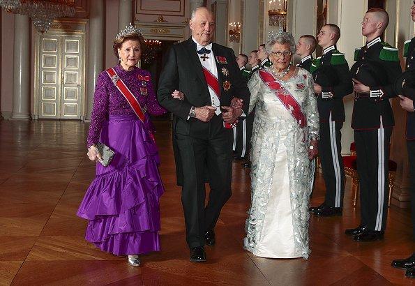 Прием для дипломатического корпуса в Норвегии