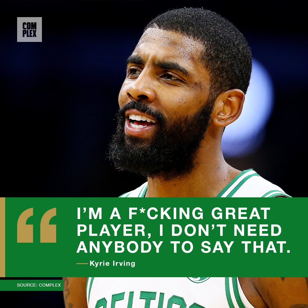 Talk that talk Kyrie! 🗣