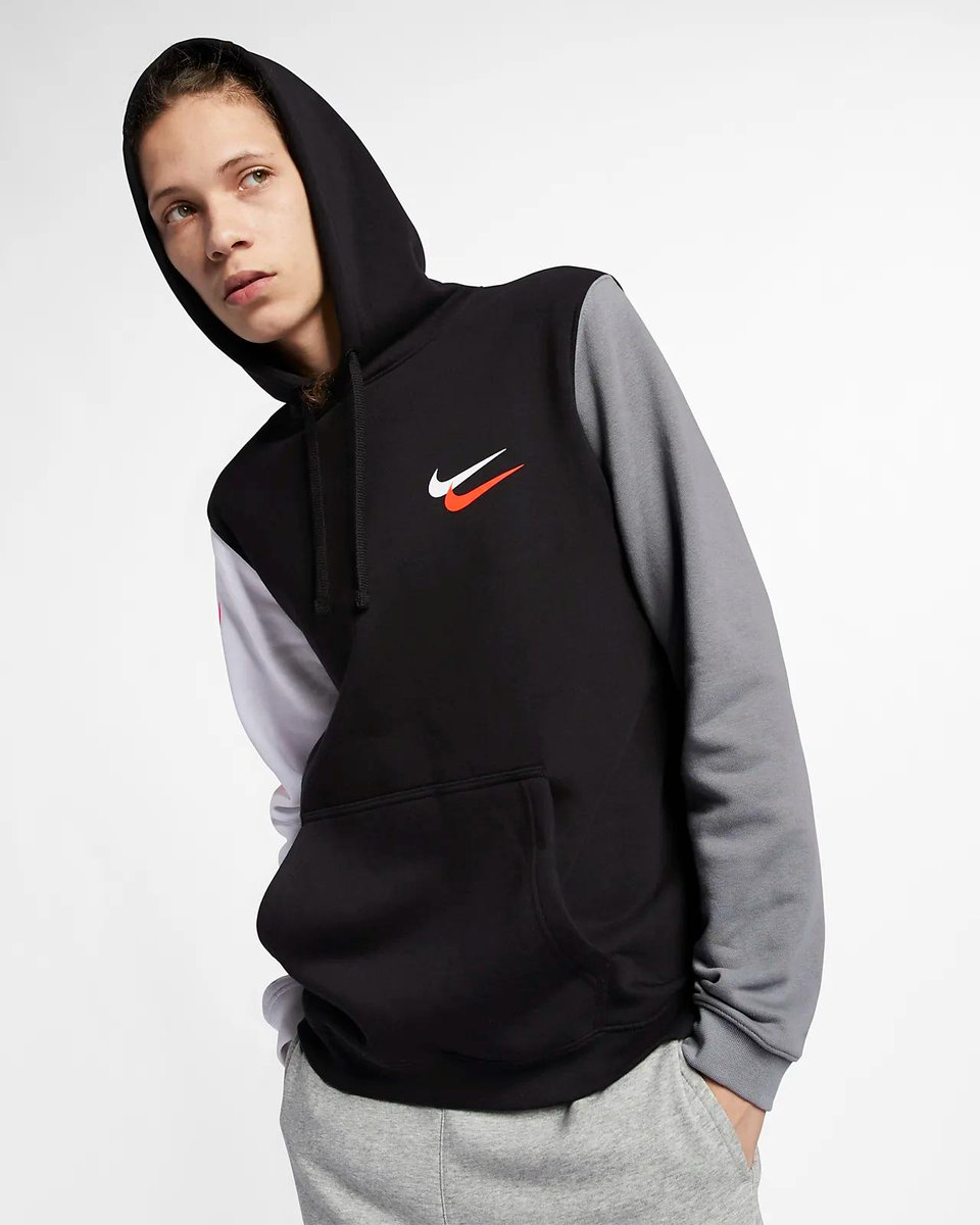newest dcec3 94e00 Dropped via  nikestore Nike Sportswear City Bright Logo Hoodies with FREE  shipping Grey  http   bit.ly 2DJdEkV Blue  http   bit.ly 2SoVm2A pic.twitter .com  ...