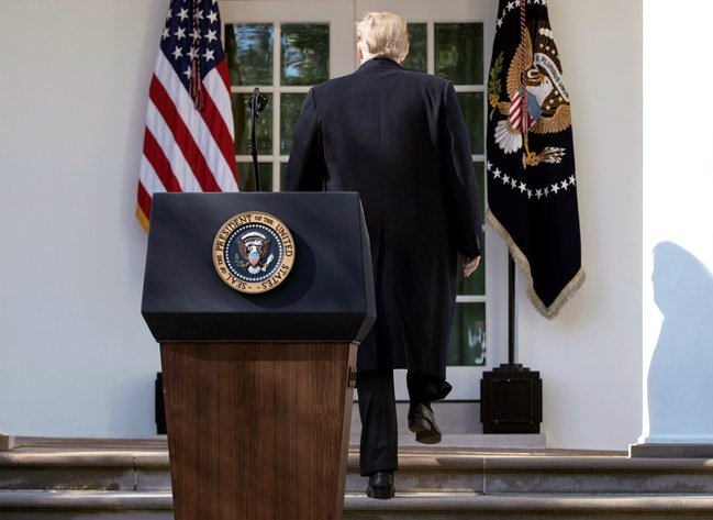 President Trump's fictitious border crisis is a central element of the political narrative he has constructed for his white-nationalist base:  https://t.co/UhNT9HoUFe