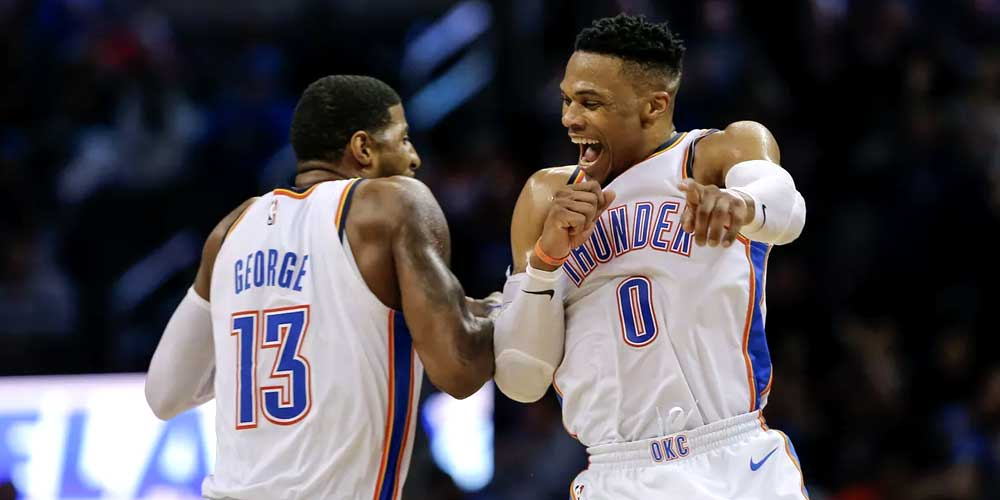We think the #OKCThunder should be your new favorite #NBA team. Here are a few reasons why: https://tinyurl.com/yxalvodu   #OKC #OklahomaCity #ThunderUp #betting #priceperhead