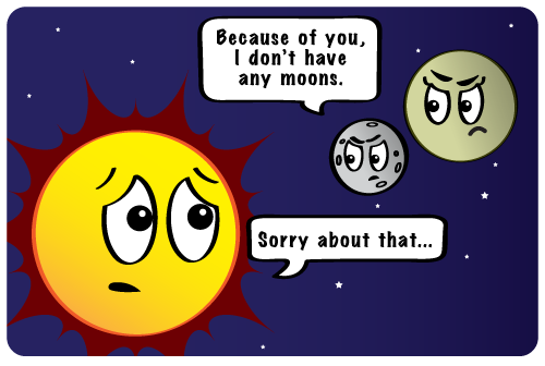 #SignsYouAreSingle The Sun steals any chance you have of holding on to a moon. #SorryMercuryAndVenus #MoonlessInOuterSpace #Gravity  http:// theplutodiaries.com     <br>http://pic.twitter.com/sNVKGRbR1F
