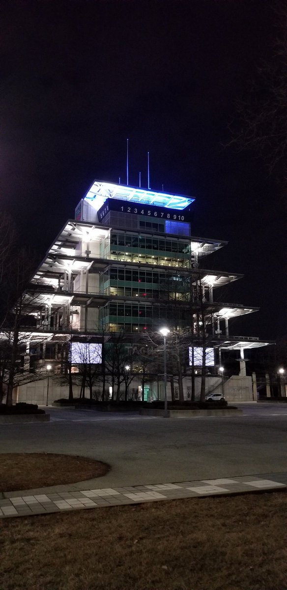 Always fun to be at The Speedway. The 💯Days Out event is a great reason to visit in February. Kudos to @jdouglas4, @suzielliott and the entire @IMS crew for making it fun. #IsItMayYet? #103rdRunning #Indy500 🏯🏁🏎