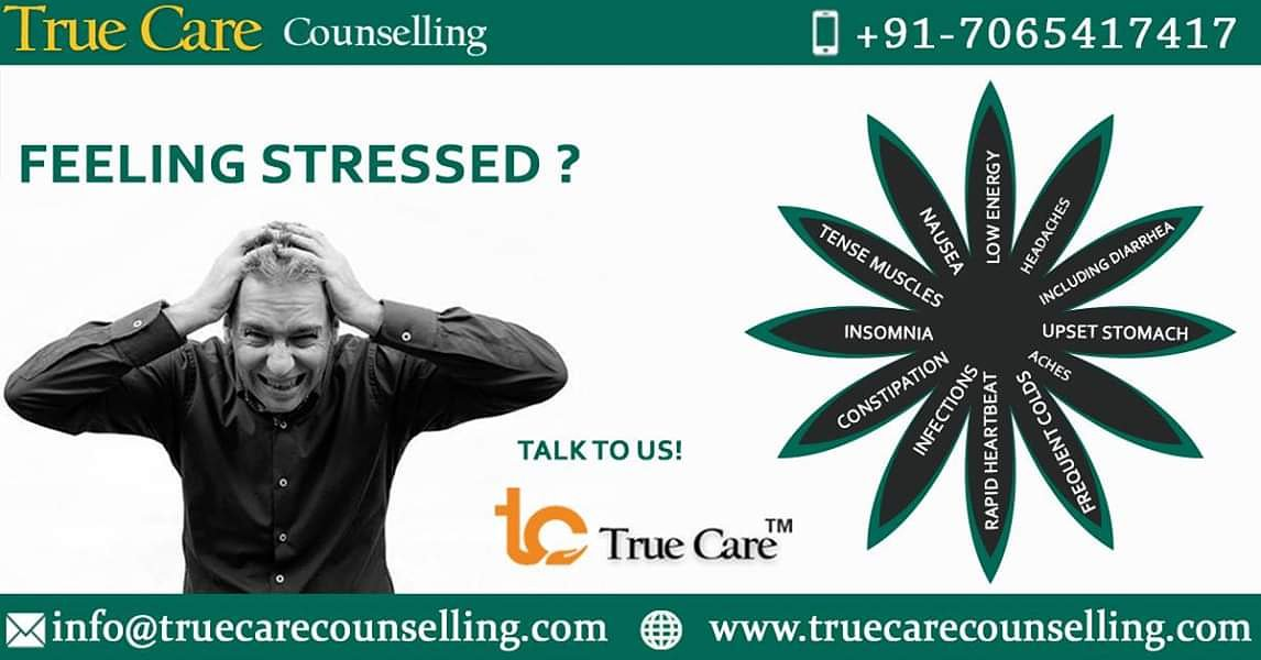 Feeling Stressed? #Stress #EmotionalStrain #Mindfulness #Peace #Relaxation #Well-being #StressFree #SelfCare #Psychologicalstrategies #ConfrontingSkills #StressManagement #TrueCare #PsychologicalServices #DelhiNcr #Noida