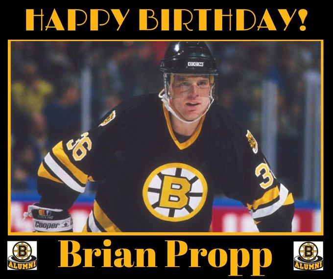 Happy Birthday, Bruins LW Brian Propp