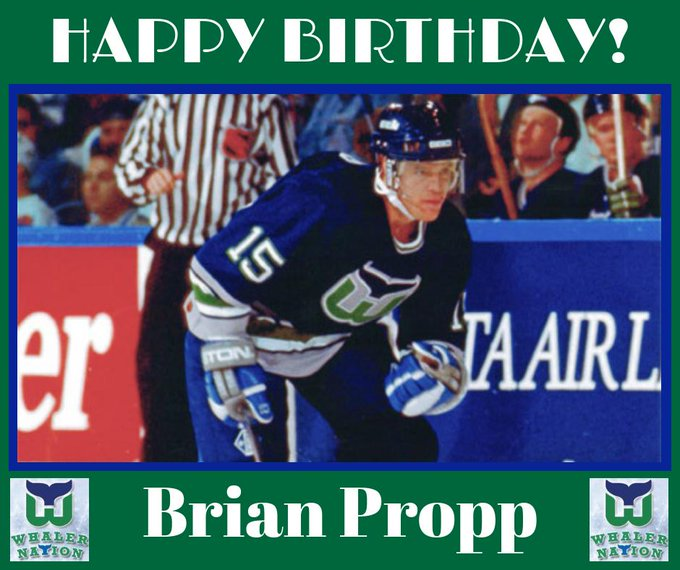 Happy Birthday Whalers LW Brian Propp.