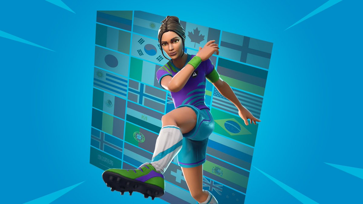 Fortnite News On Twitter Picking Up A Sweaty Soccer Skin On This Fine Evening Don T Forget To Use Code Fnbr While Doing So