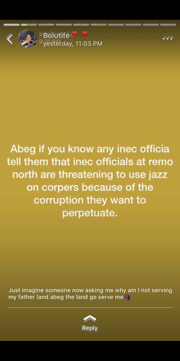 This is sad and frightening #Inec #2019Elections
