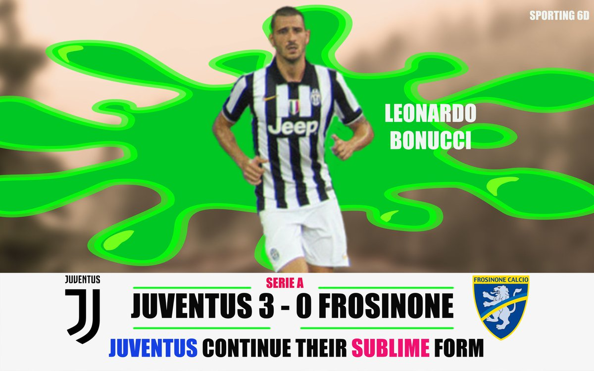 Juventus extend their Lead and looks in great shape heading into the champions league. Juventus are unbeaten in the Serie A League.#JuveFrosinone #finoallafine #ForzaJuve #SerieAxESPN #Ronaldo #Dybala #Bonucci #Frosinone #Juve #FridayThoughts