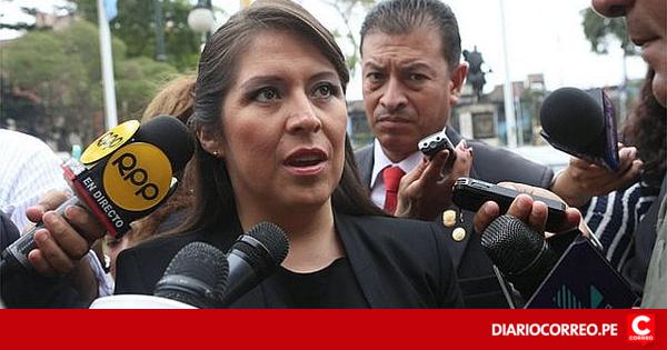 Yeni Vilcatoma denuncia irregularidades en acuerdo con Odebrecht - Diario Correo https://t.co/qMwHLCYcry