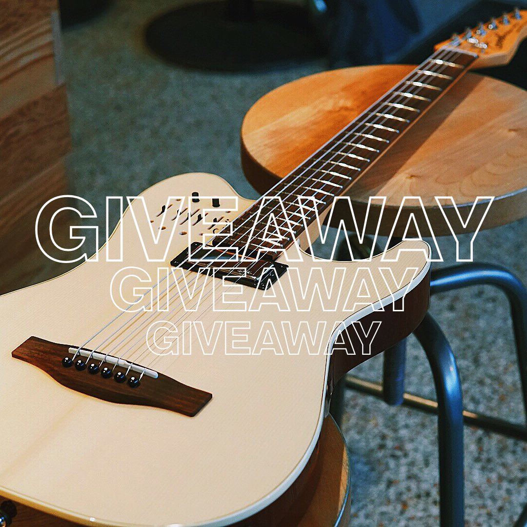 🌎 INTERNATIONAL GIVEAWAY ALERT 🚨: We're giving away one of our #Acousticaster Guitars for FREE! Follow these 3️⃣ simple rules to enter:  1. RT this post. 2.TAG 4️⃣ friends in the mentions beneath this post.  ___ On February 22, we'll announce the winner 👌🏼 Bonne chance 😉