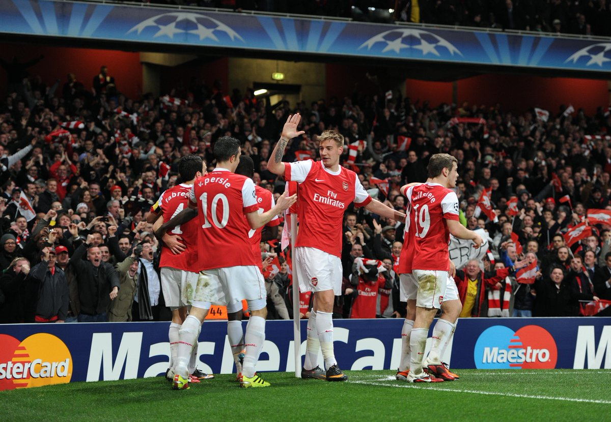 February 16, 2011: Arsenal 2-1 Barcelona 😃  An unforgettable night at Emirates Stadium - but what do you remember of the game?  📍 Where did you watch it? 👥 Who did you watch with? 🥂 How did you celebrate?