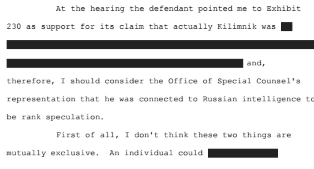 ABJ notes talking with State is not inconsistent with being a Russian spy.