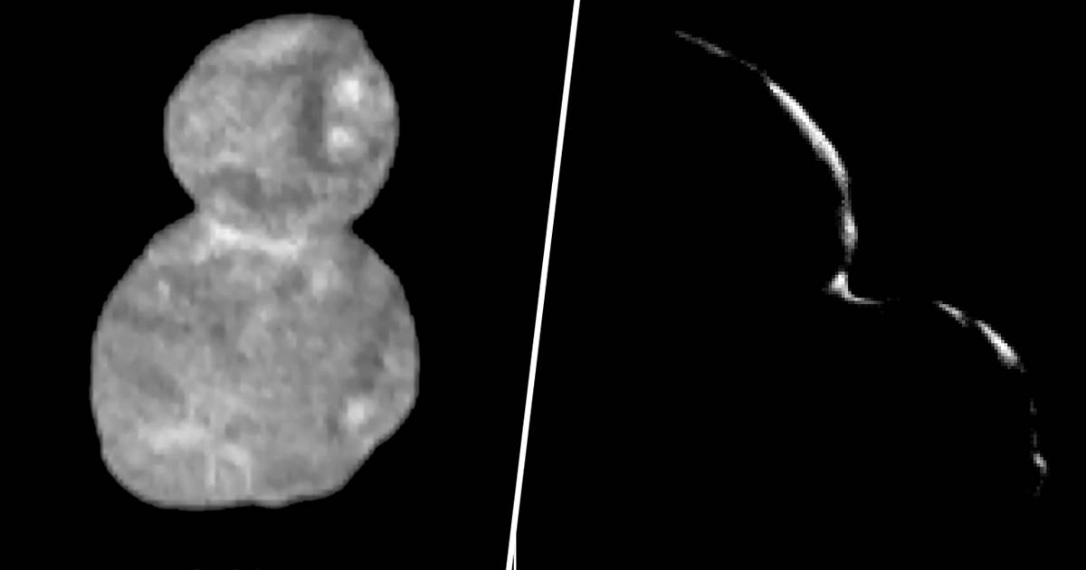 NASA photos show Ultima Thule doesn't look much like snowman after all https://t.co/Jrd8WQCUdm