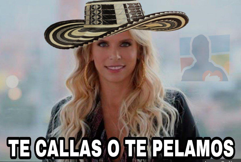#LaAgenciaBatallaDeModelos @CaracolTV Cuando se te sale lo Uribestia...