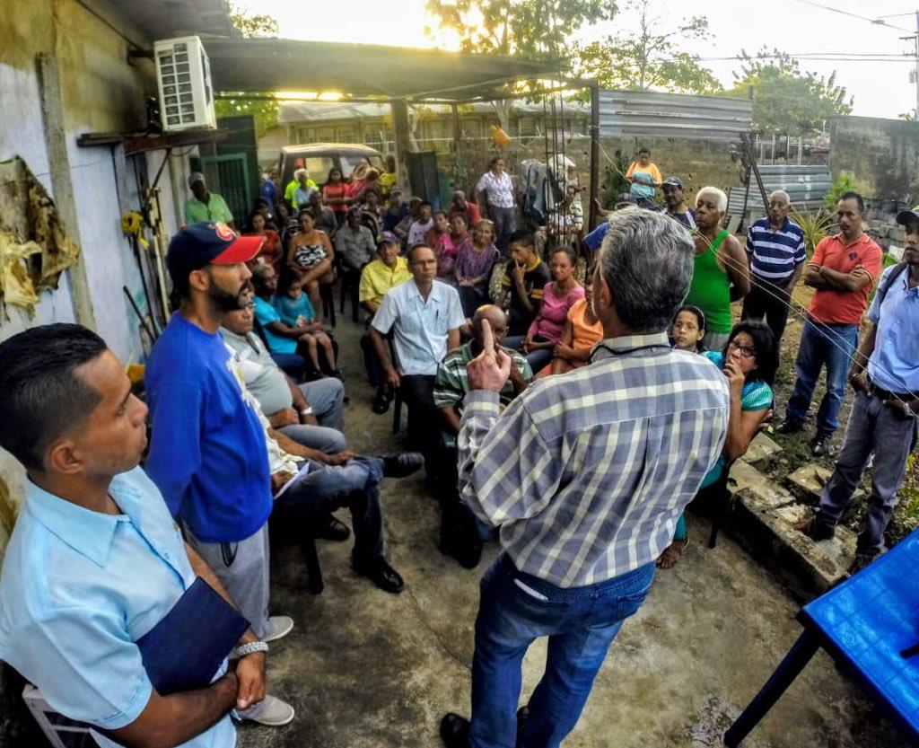Cabildo Abierto hoy #15F en 25 de Marzo de San Félix. Ratificando el apoyo a  @jguaido como Presidente. Luchar contra la #Usurpación y coordinar la Ayuda Humanitaria a ingresar el #23F