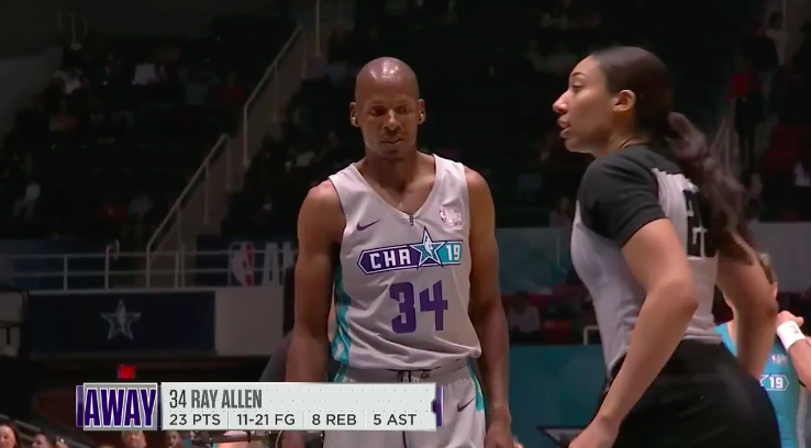 Ray Allen would help the Lakers more than Mike Muscala. <br>http://pic.twitter.com/q1qpW2Bki9