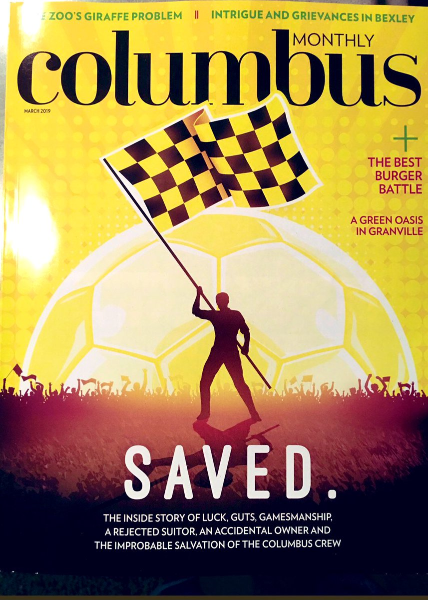 Whoa!!! Best Cover Ever!! #ColumbusMonthly #Crew96 #Saved