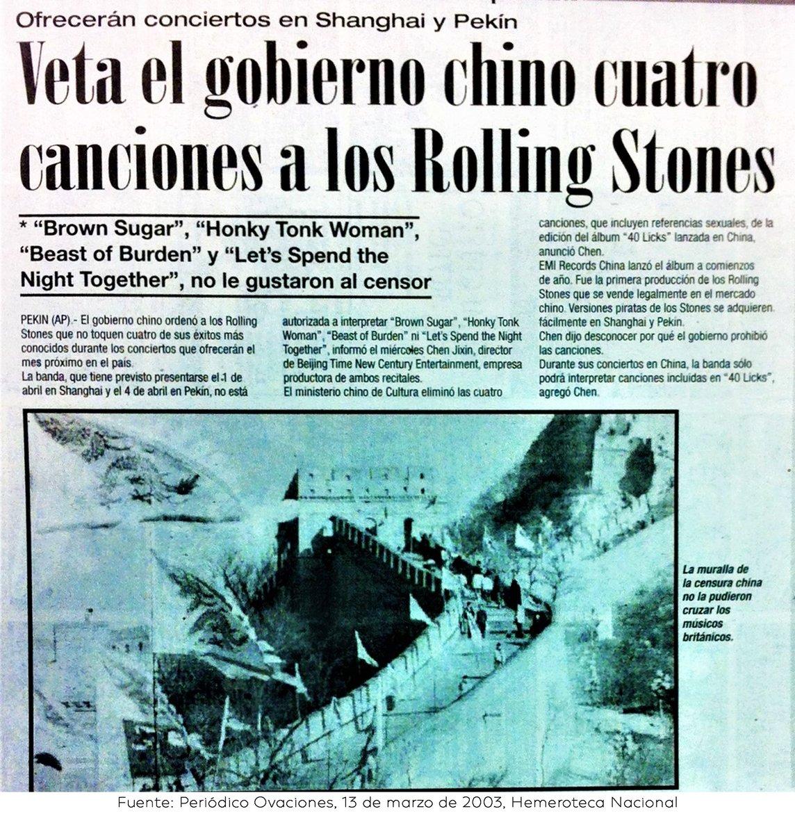 Resultado de imagen para rolling stomes en china 2003