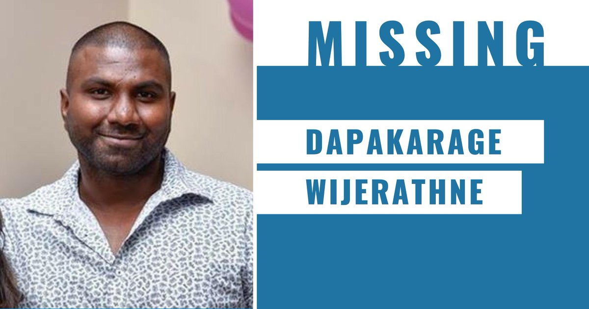 Police are appealing for public assistance to help locate missing man Dapakarage Wijerathne. →  https://t.co/9NX0bI7iV2