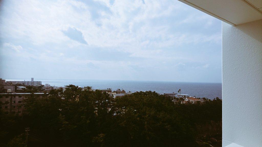 海の見える街で休暇。のんびりお散歩。