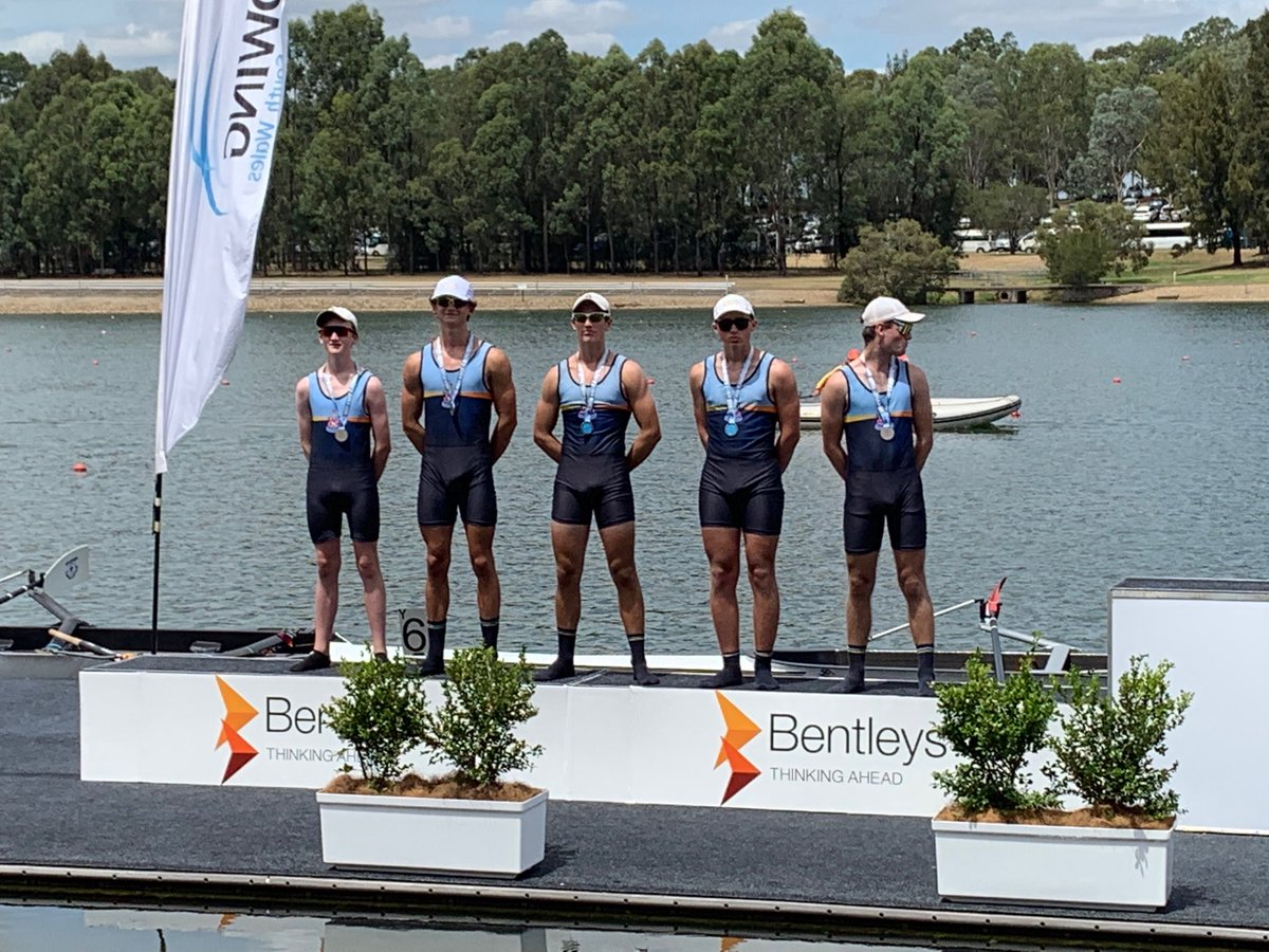 Best of luck to all the @CanberraGrammar rowers competing in the NSW Championships this weekend. Congrats CGS Schoolboys IV - Silver medalists today!